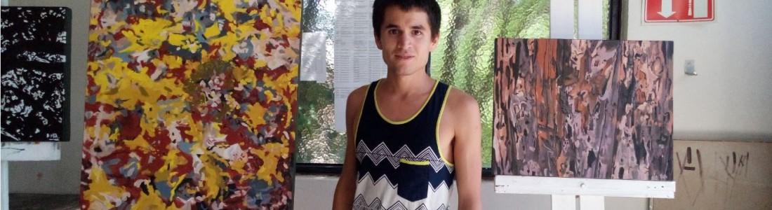 Joven chileno estudia arte en el Instituto Allende