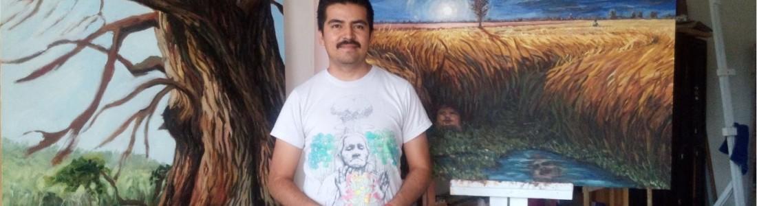 Samuel Pérez Lugo, estudiante de Artes Visuales en el Instituto Allende